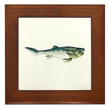 Dunkleosteus fish Framed Tile
