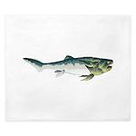 Dunkleosteus fish King Duvet