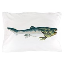 Dunkleosteus fish Pillow Case