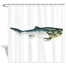 Dunkleosteus fish Shower Curtain