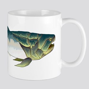 Dunkleosteus fish Mugs