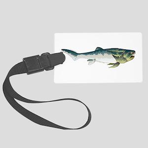 Dunkleosteus fish Luggage Tag