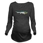 Dunkleosteus fish Long Sleeve Maternity T-Shirt