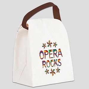 Opera Rocks Canvas Lunch Bag