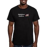 Xylophone Goddess Men's Fitted T-Shirt (dark)