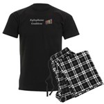 Xylophone Goddess Men's Dark Pajamas