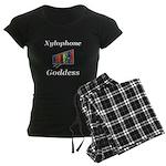 Xylophone Goddess Women's Dark Pajamas