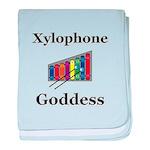 Xylophone Goddess baby blanket