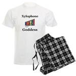 Xylophone Goddess Men's Light Pajamas