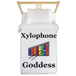 Xylophone Goddess Twin Duvet