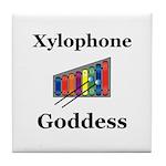 Xylophone Goddess Tile Coaster
