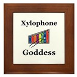Xylophone Goddess Framed Tile