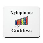 Xylophone Goddess Mousepad