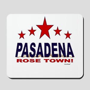 Pasadena Rose Town Mousepad
