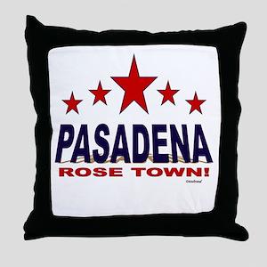 Pasadena Rose Town Throw Pillow