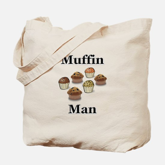 Muffin Man Tote Bag