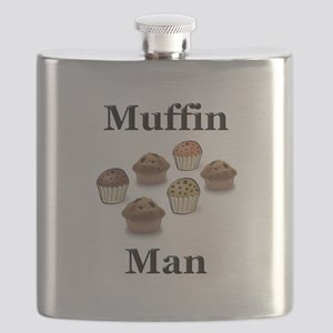 Muffin Man Flask