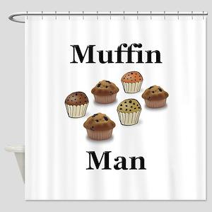 Muffin Man Shower Curtain