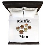 Muffin Man King Duvet