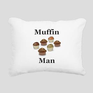Muffin Man Rectangular Canvas Pillow