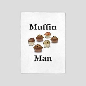 Muffin Man 5'x7'Area Rug