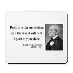 Ralph Waldo Emerson 8 Mousepad