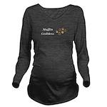 Muffin Goddess Long Sleeve Maternity T-Shirt