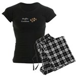 Muffin Goddess Women's Dark Pajamas