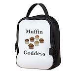 Muffin Goddess Neoprene Lunch Bag