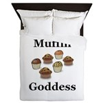 Muffin Goddess Queen Duvet