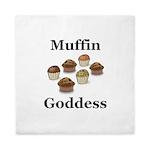 Muffin Goddess Queen Duvet