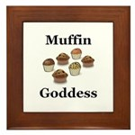Muffin Goddess Framed Tile