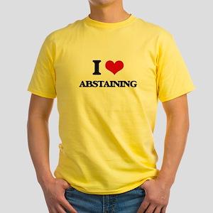 I Love Abstaining T-Shirt