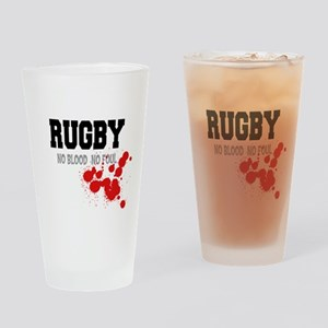 rugby113 Drinking Glass