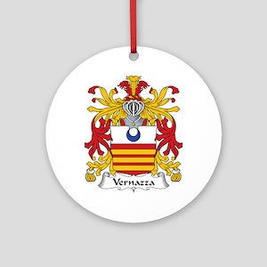 Vernazza Ornament (Round)