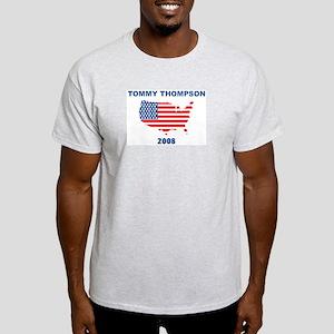 TOMMY THOMPSON 2008 (US Flag) Light T-Shirt