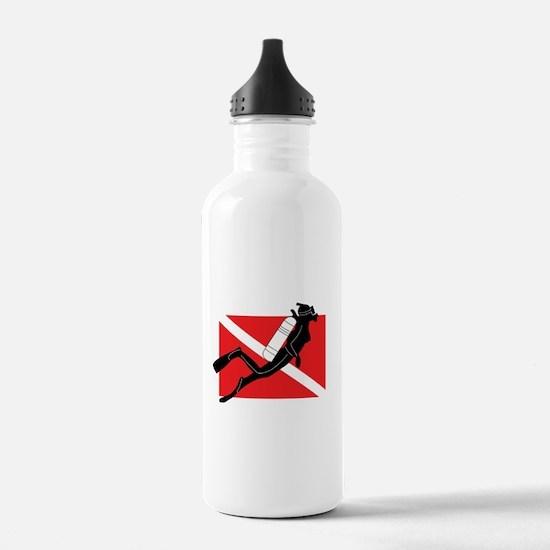 scuba55.png Water Bottle