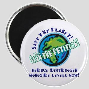Dihydrogen Monoxide Magnet