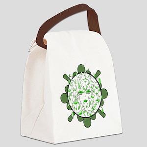 sally-face Canvas Lunch Bag
