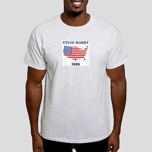 STEVE KUBBY 2008 (US Flag) Light T-Shirt