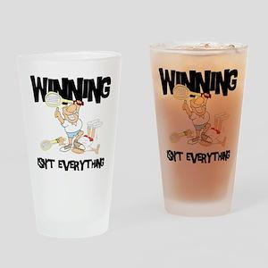 tennis33 Drinking Glass