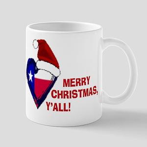 Texas Christmas Greeting Mug