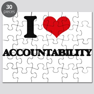 I Love Accountability Puzzle