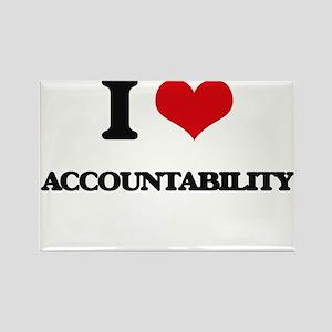 I Love Accountability Magnets