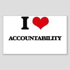 I Love Accountability Sticker