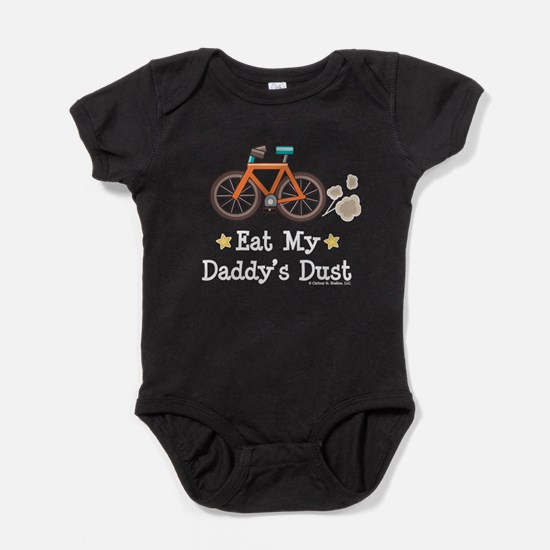 Funny Mountain bike Baby Bodysuit