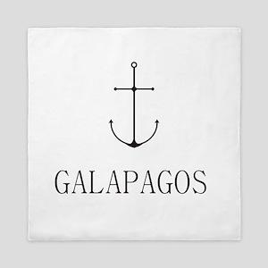 Galapagos Sailing Anchor Queen Duvet