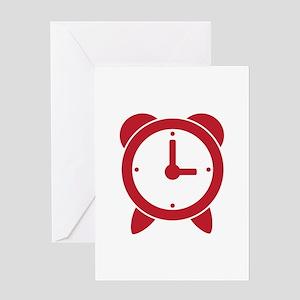 Alarm Clock Greeting Cards