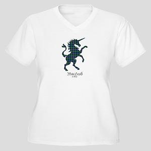Unicorn-MacLeodSk Women's Plus Size V-Neck T-Shirt