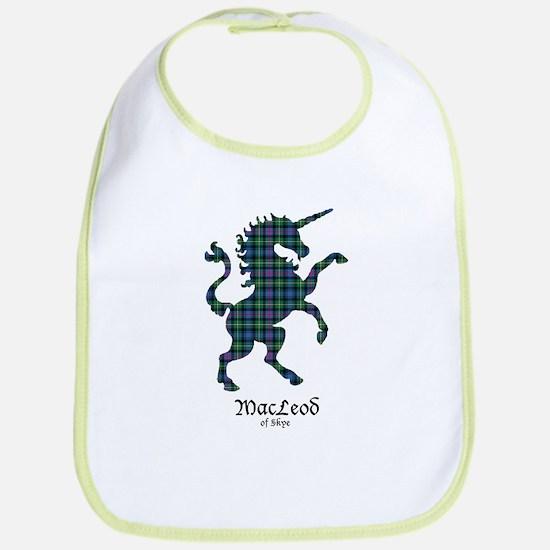 Unicorn-MacLeodSkye Cotton Baby Bib